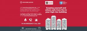 High-rise residents to get post-Grenfell fire Safety Advice